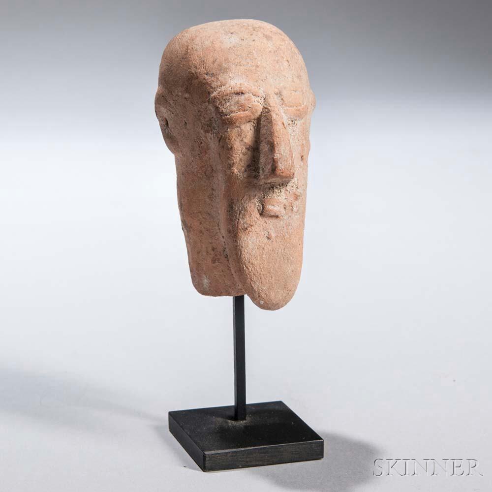 African Terra-cotta Head