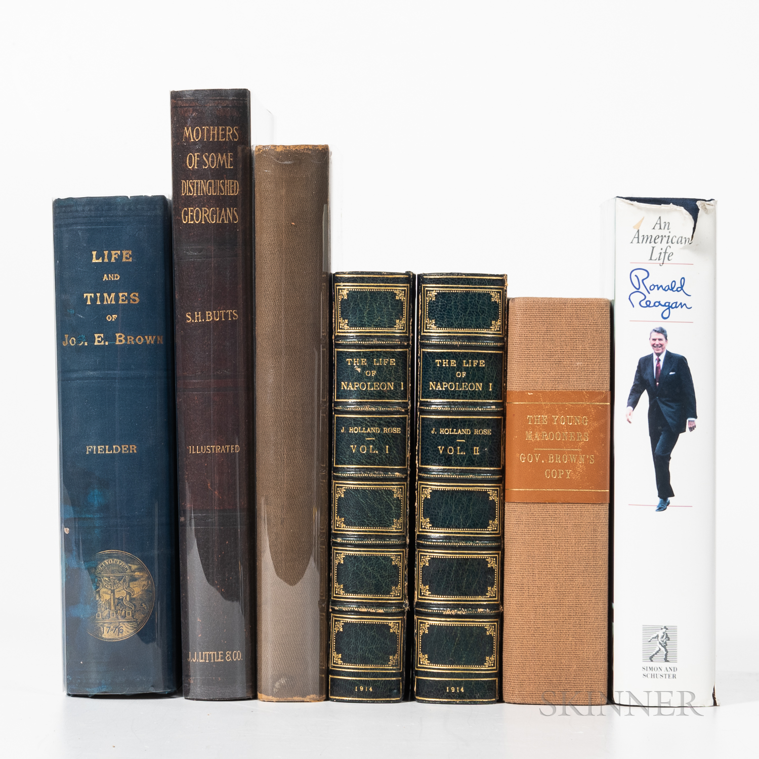 Six Biographical Works.