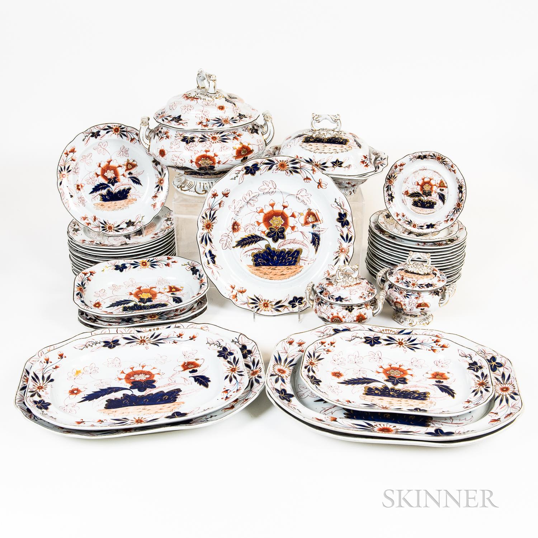 Group of Spode Imari Porcelain Tableware