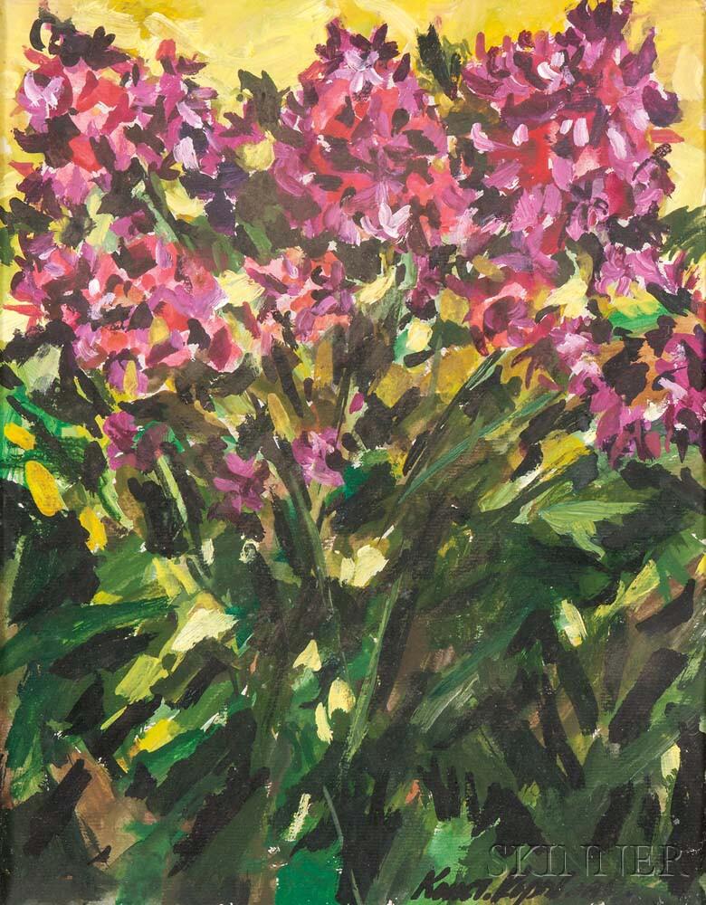 Konstantin Alexseyevitch Korovin (Russian, 1861-1939)    Flowers