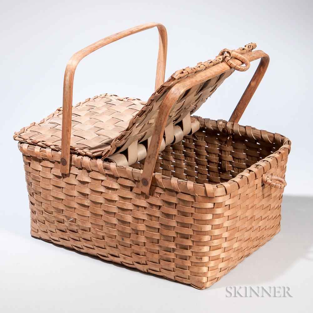 Double-handled Splint Basket