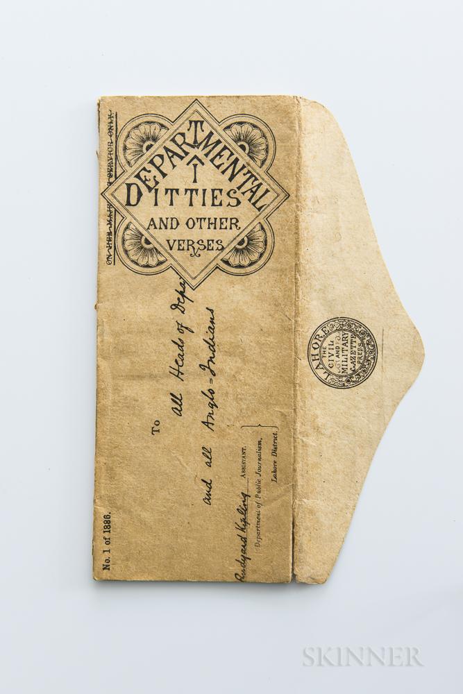 Kipling, Rudyard (1865-1936) Departmental Ditties and Other Verses.