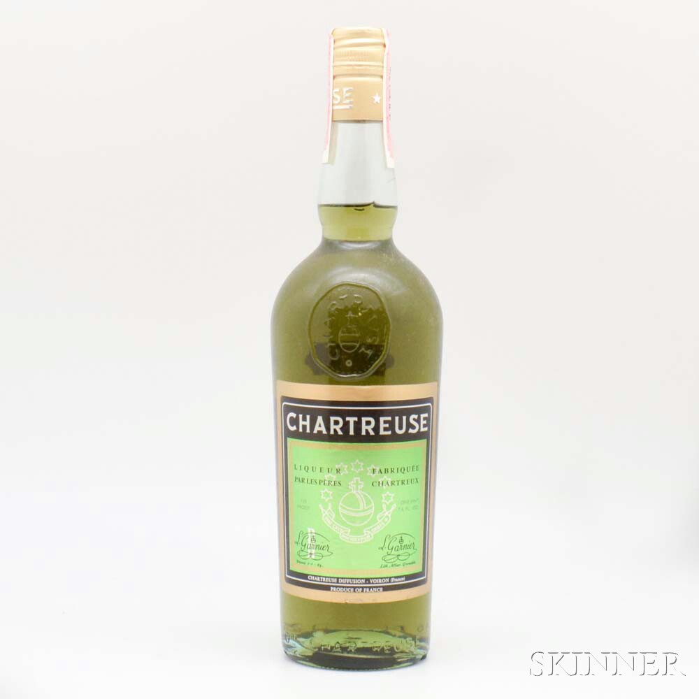 Green Chartreuse, 1 1-pint 7.6oz bottle