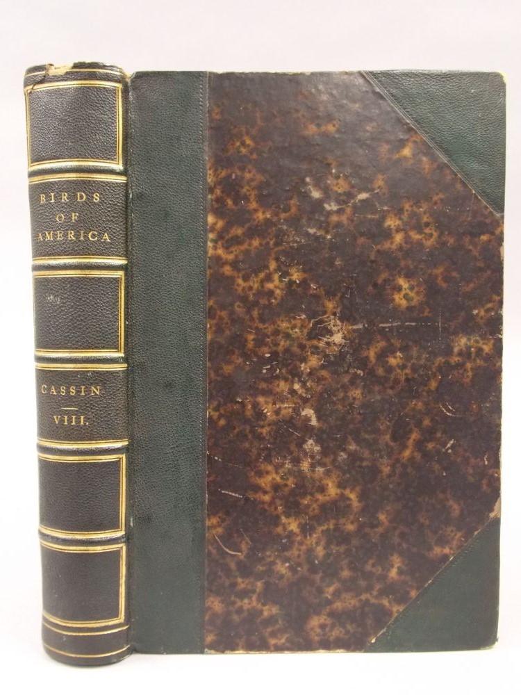 Cassin, John (1813-1869) Illustrations of the Birds of California, Texas, Oregon, British & Russian America.
