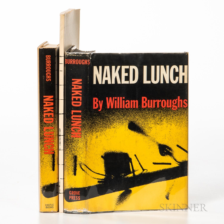 Burroughs, William (1914-1997) Three Works.