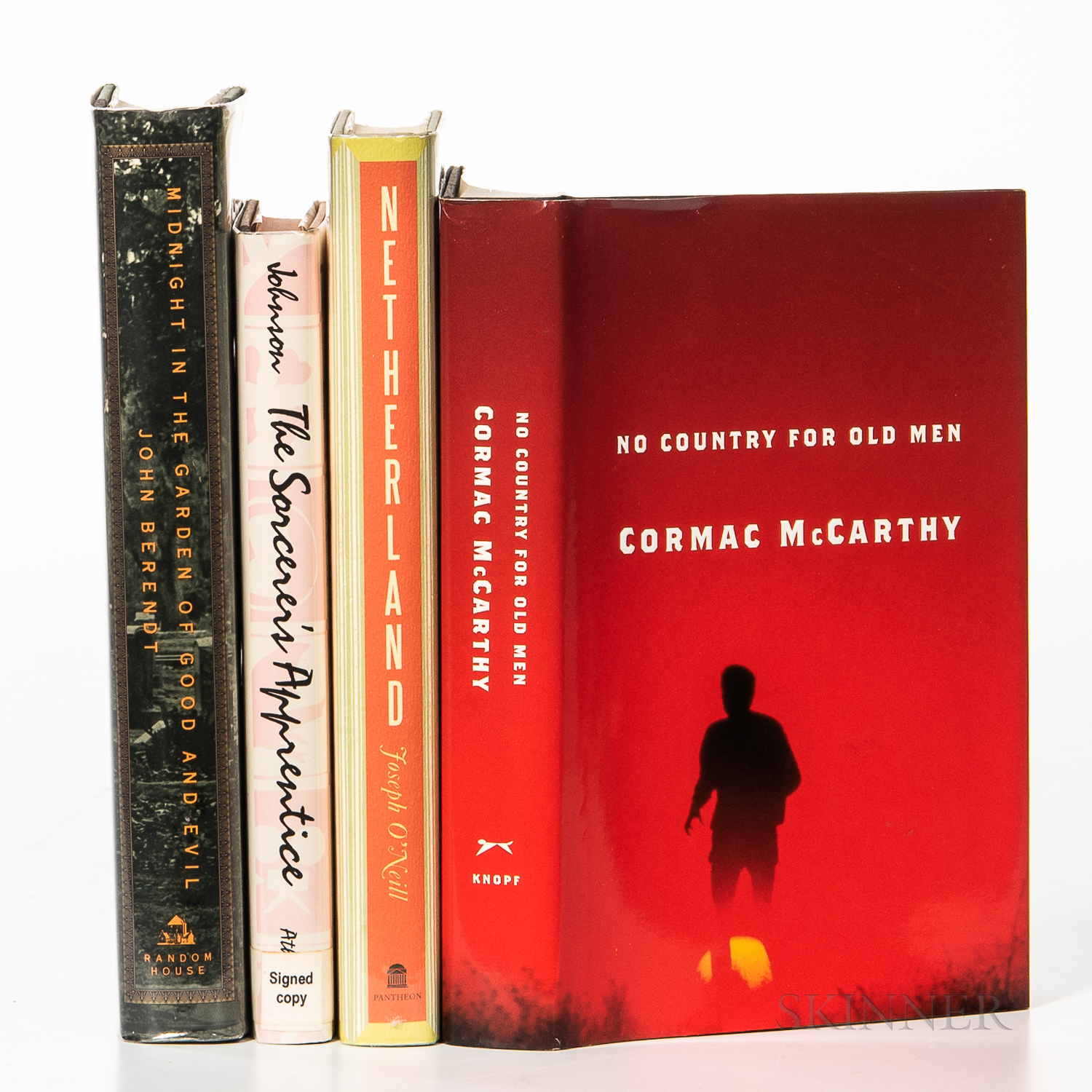Four Modern First Edition Works.