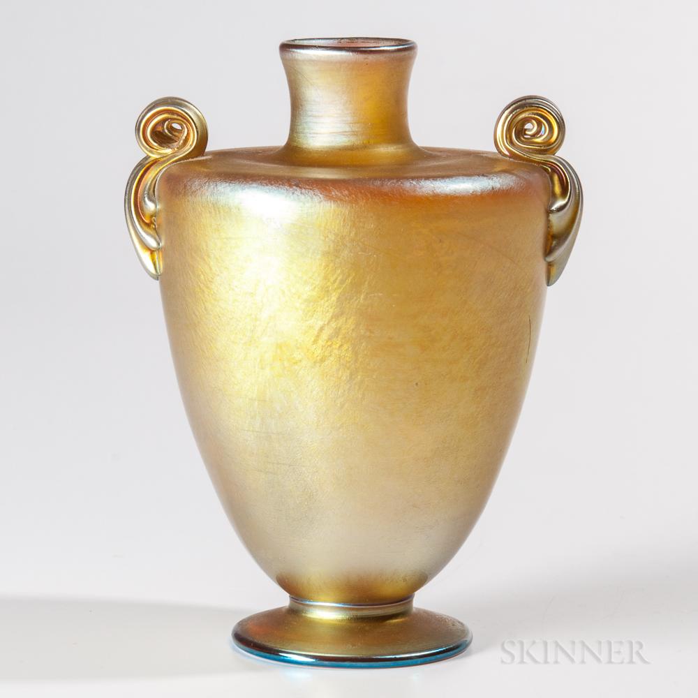 Tiffany Favrile Amphora Vase