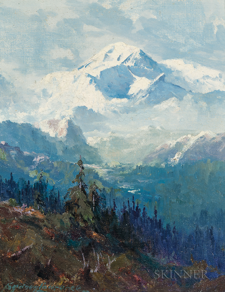 Sydney Mortimer Laurence (American, 1865-1940)      Mount McKinley