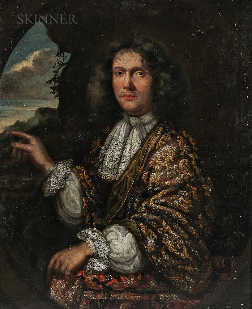 Continental School, 17th Century      Portrait of a Gentleman