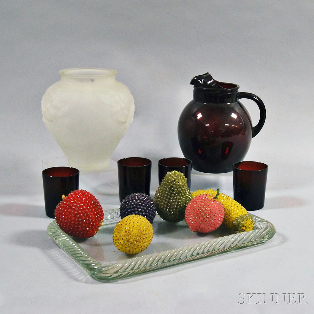 Thirteen Functional and Decorative Glass Items