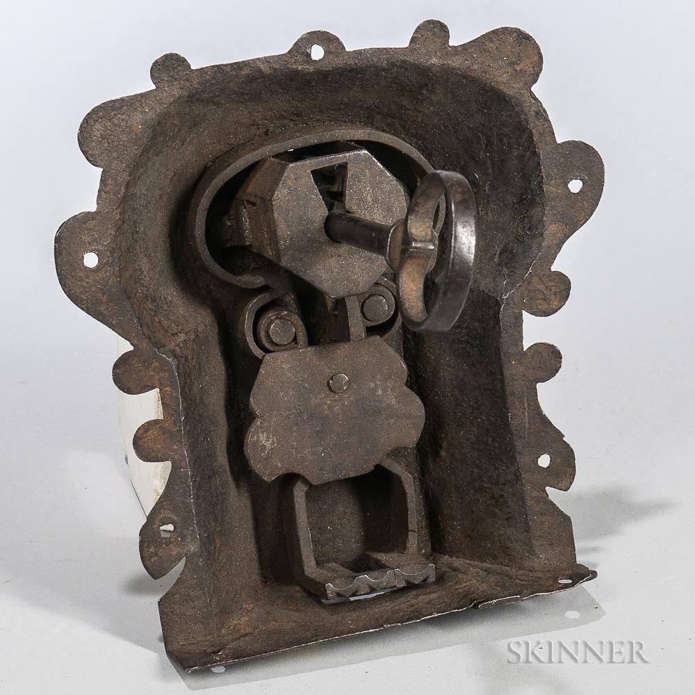 16th Century Casket Lock and Key