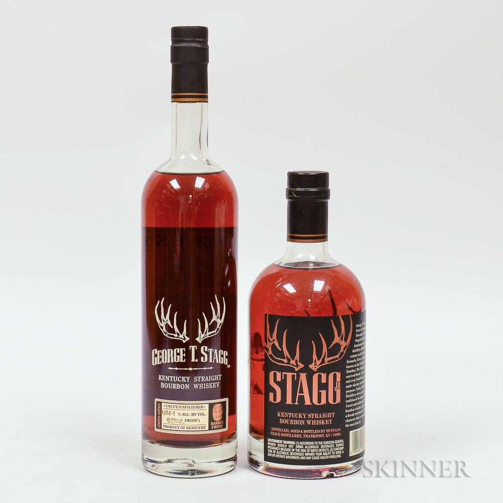 Mixed George T Stagg, 2 750ml bottles