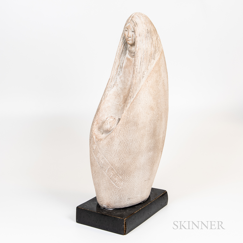 "Austin Productions ""Mother and Child"" Composite Sculpture"