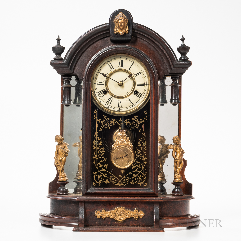 "New Haven ""Occidental"" Eight-day Shelf Clock"