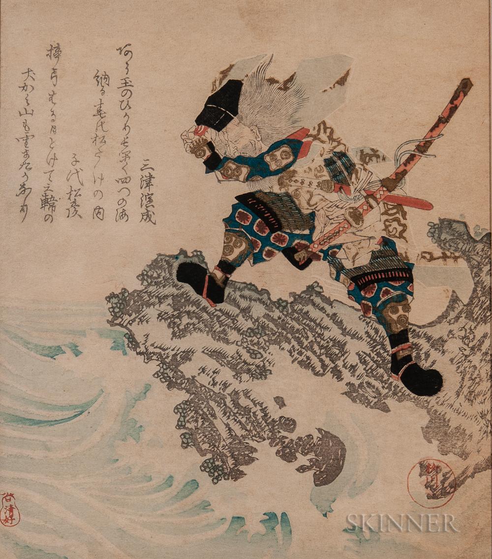 Yanagawa Shigenobu I (1787-1832), Woodblock Print