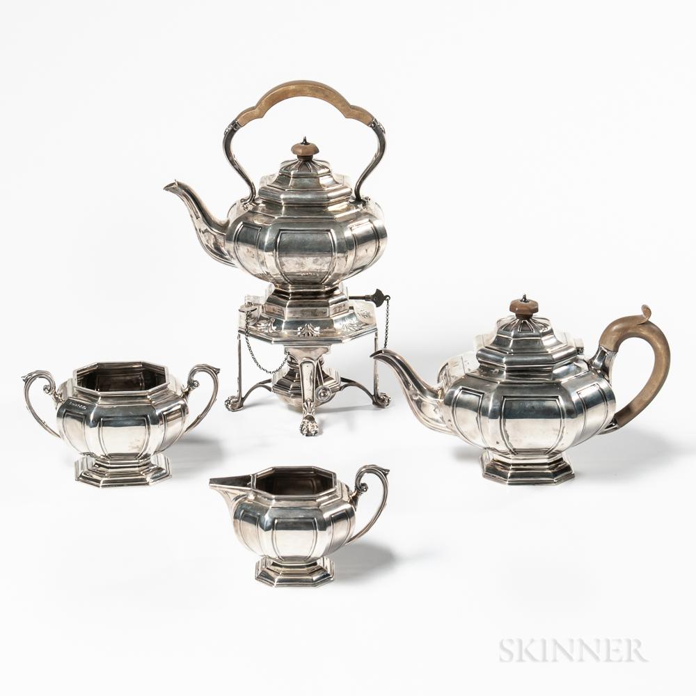 George V Sterling Silver Tea Service