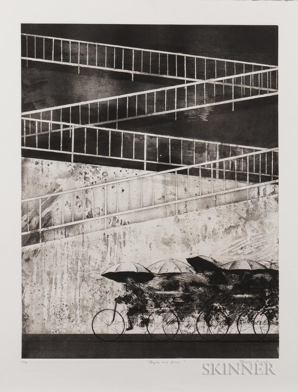 Shigeki Kuroda (1953), Bicycle and Fence