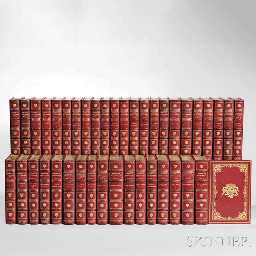 Morse, John Torrey, ed. (1840-1937) The American Statesman,