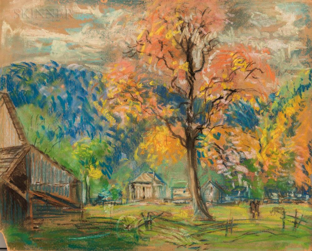 Arthur Clifton Goodwin (American, 1864-1929)      Canadian Home (John Barber Farm)