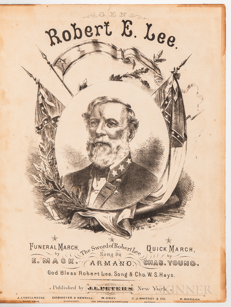 Sheet Music Collection, 1870s.