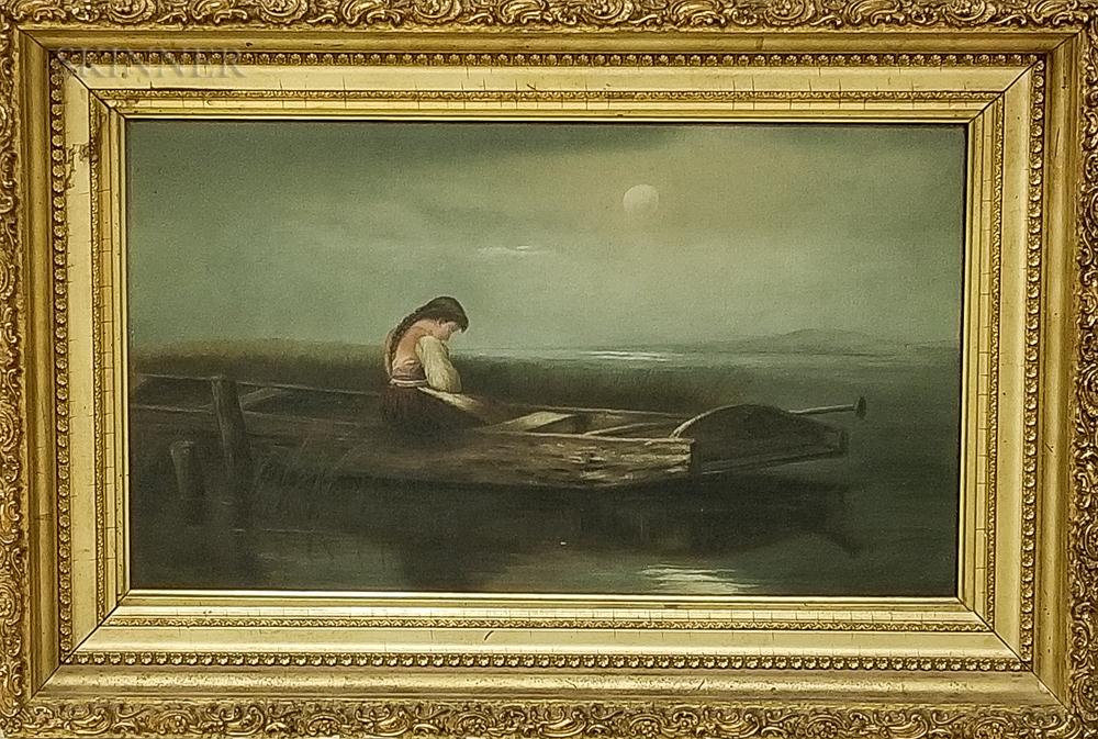 After Heinrich Vosberg (German, 1833-1891)    Alone and Forsaken