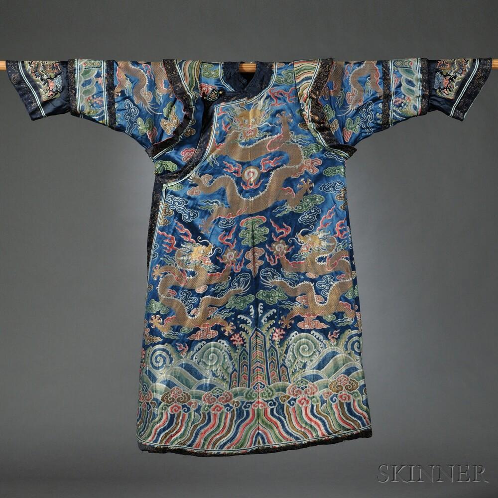 Manchu Woman's Formal Court Robe