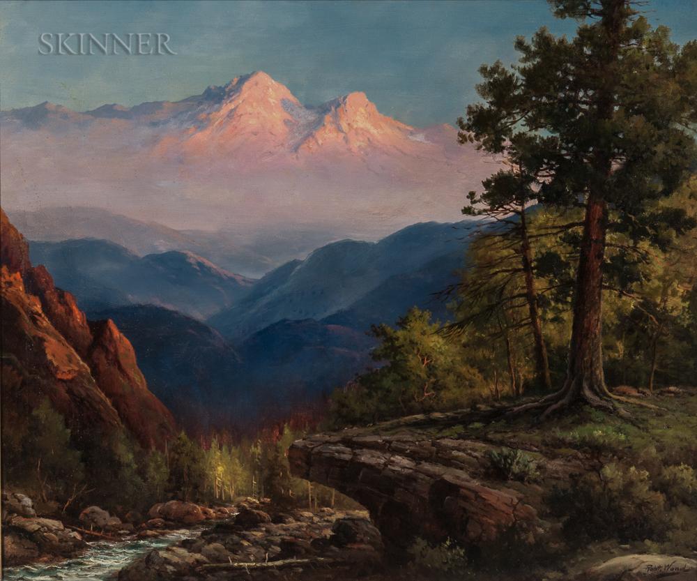 Robert William Wood (American, 1889-1979)      Rocky Mountain Vista