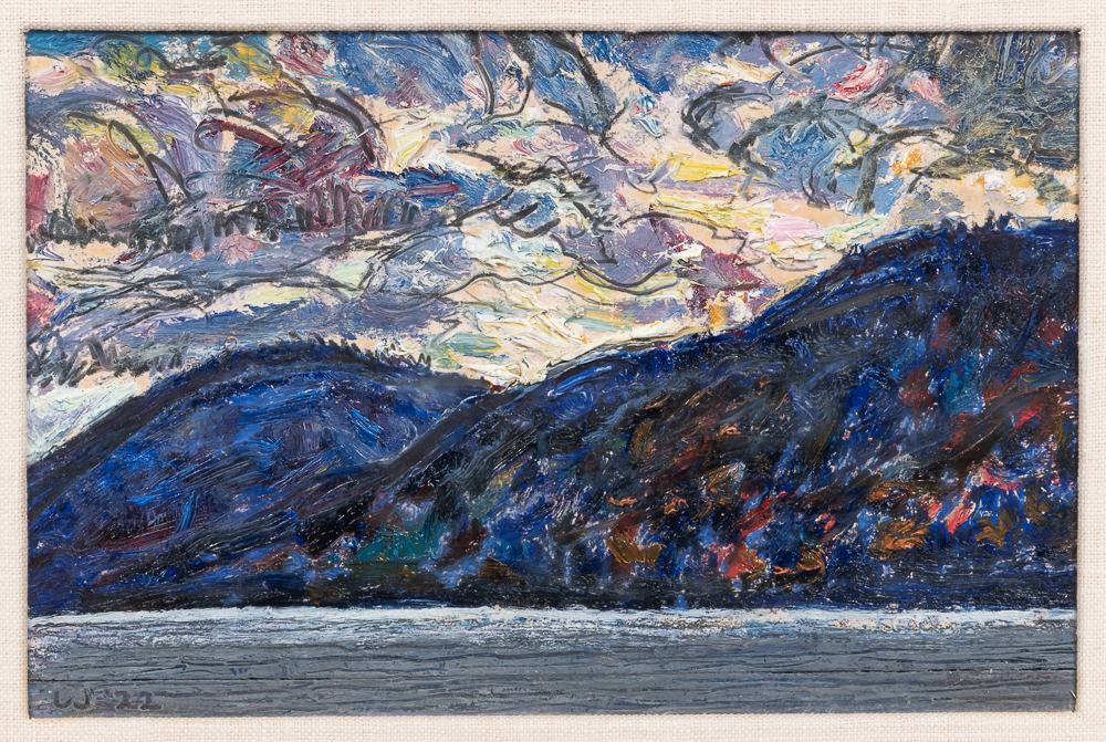Harold Weston (American, 1894-1972)      Sunset - Upper Ausable Lake