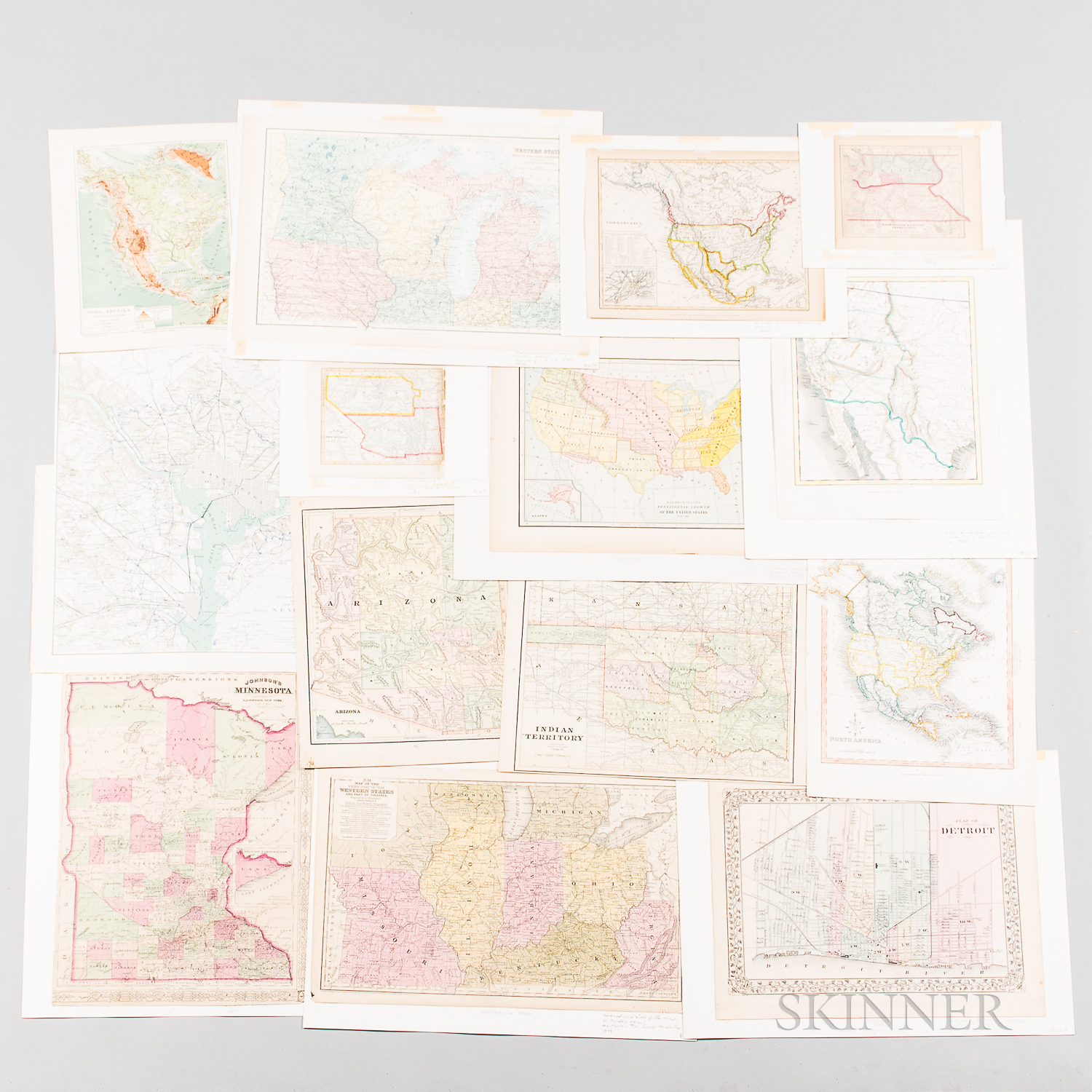 Eighty-five Maps of the United States