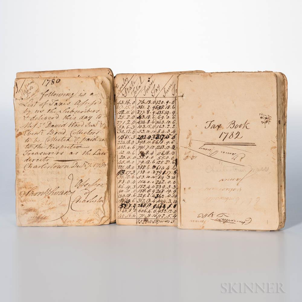 Charlestown Tax Records 1780-1782.