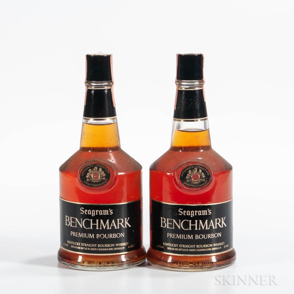 Seagrams Benchmark 6 Years Old, 2 4/5 quart bottles