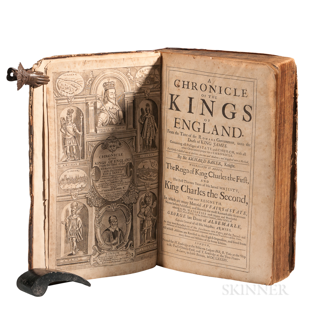 Baker, Sir Richard (1568-1645) A Chronicle of the Kings of England.