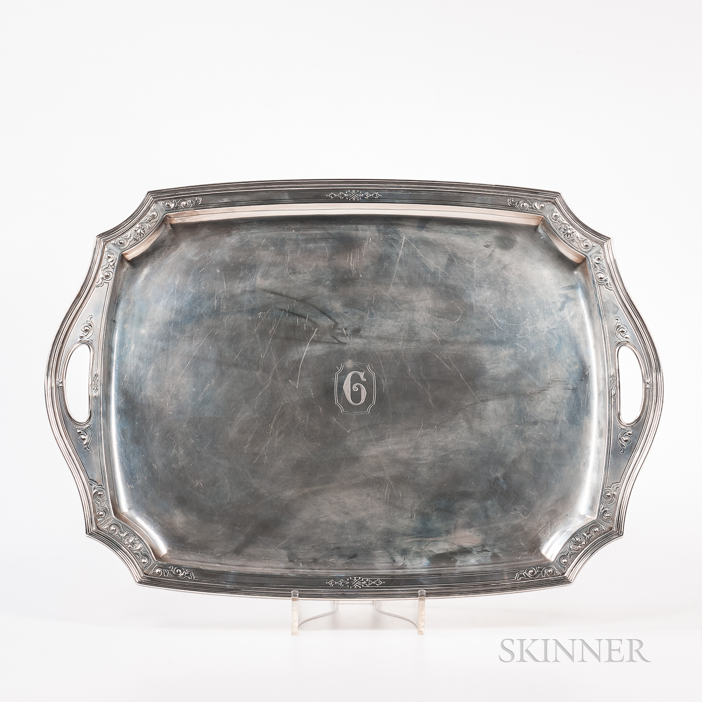 Tiffany Sterling Silver Serving Platter