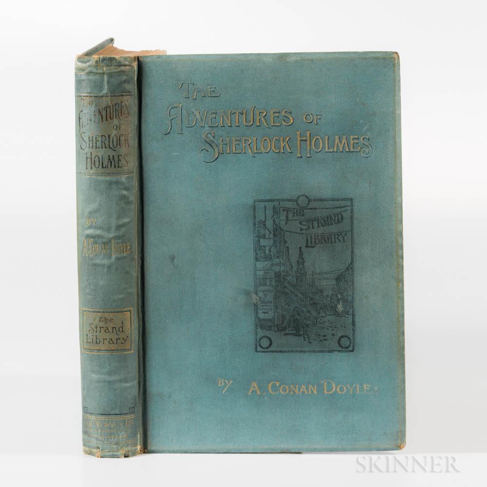 Doyle, Sir Arthur Conan (1859-1930) The Adventures of Sherlock Holmes  , First Edition.