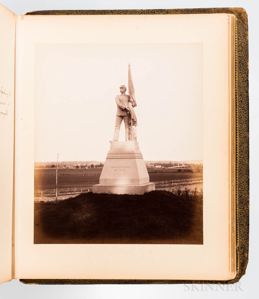 Recollections of the Thirteenth Massachusetts Regiment  , Photo Album, Post 1885.