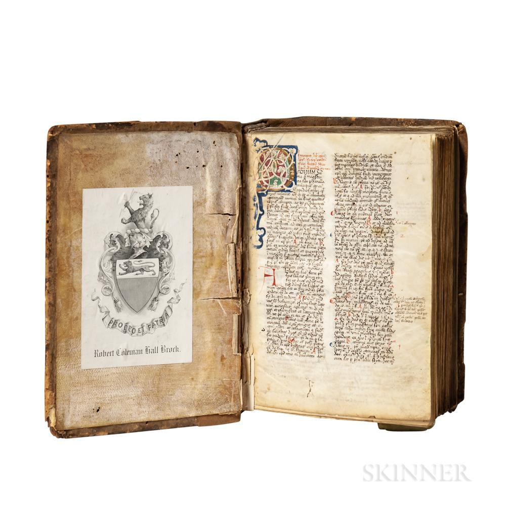 Nicolaus de Ausmo (d. 1453) Supplementum Summae Pisanellae  , Manuscript on Parchment.