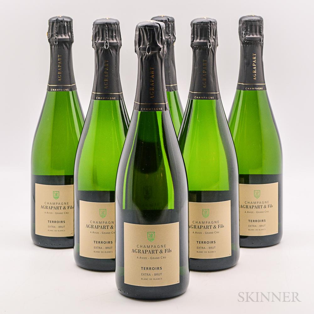 Agrapart & Fils Terroirs NV, 6 bottles (oc)