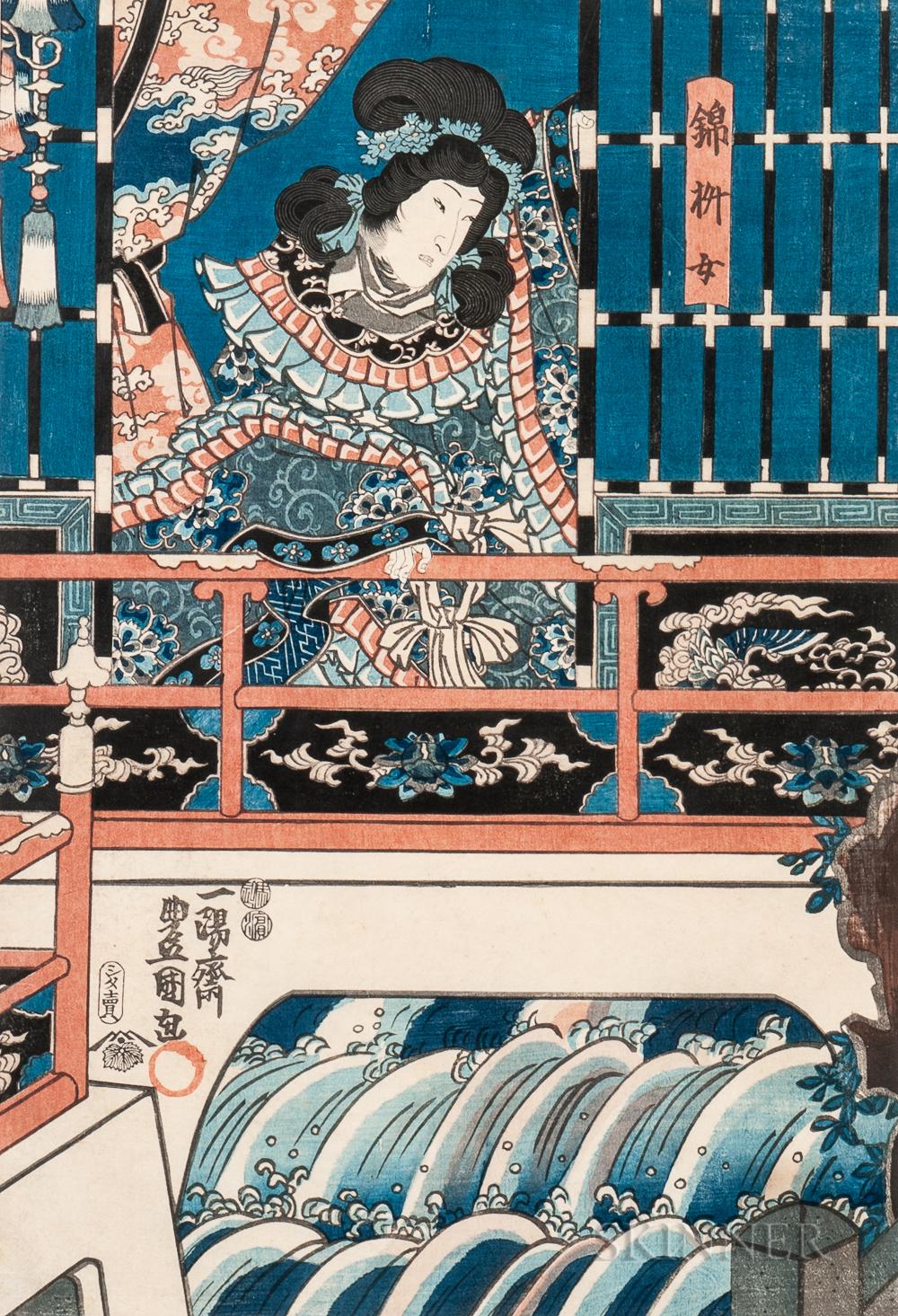 Utagawa Kunisada (Toyokuni III, 1786-1864), Woodblock Print