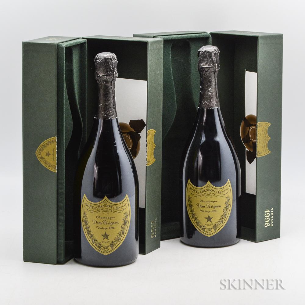 Moet & Chandon Dom Perignon 1996, 2 bottles (2 x ind. oc)