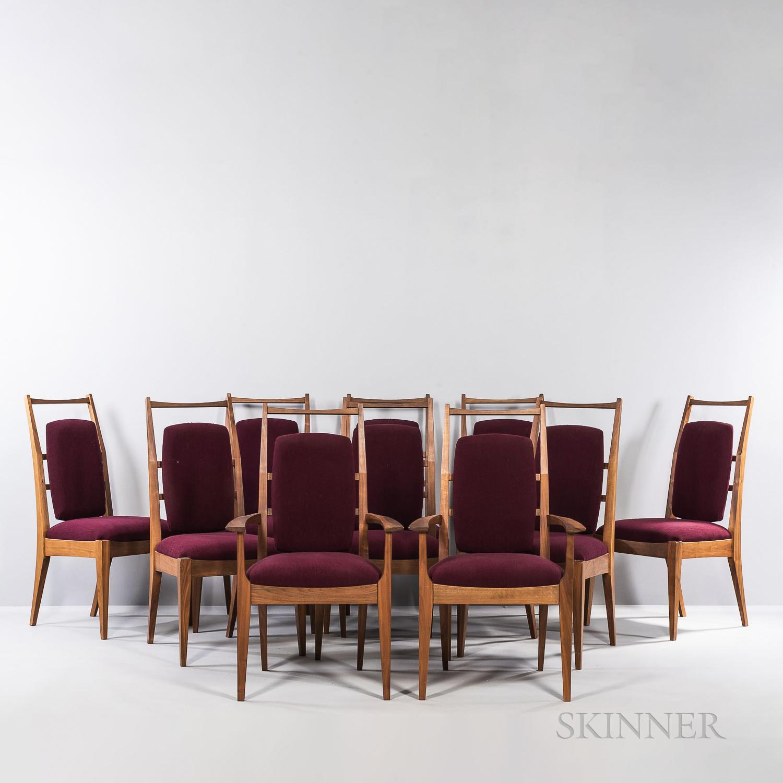 Ten Jonah Zuckerman for City Joinery Communal Dining Chairs