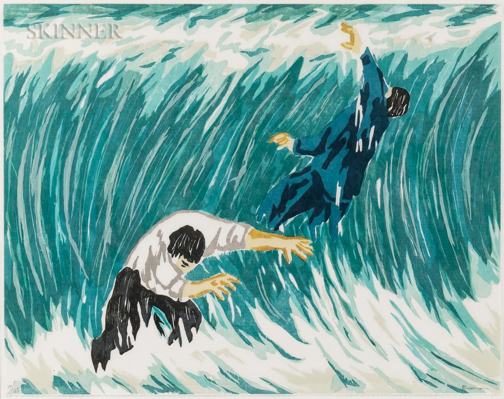 Richard Bosman (American, b. 1944)      The Wave