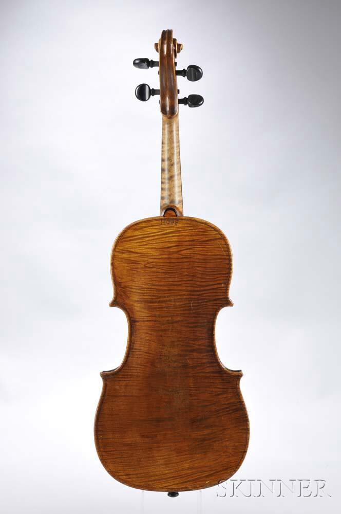 German Violin, Hopf Family, 19th Century