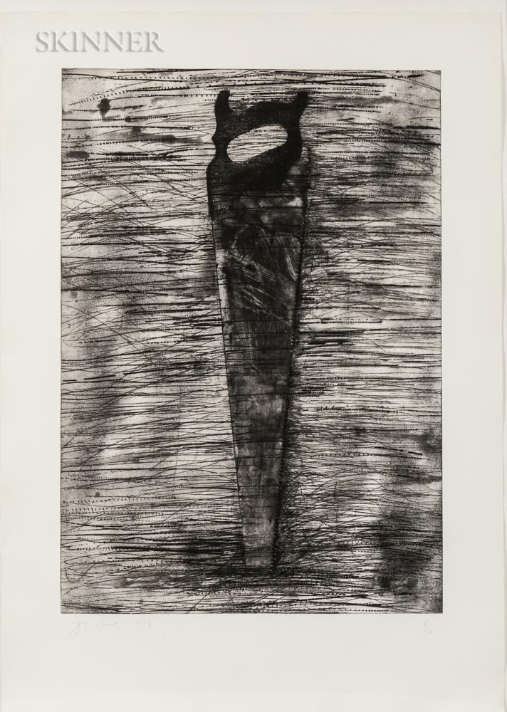 Jim Dine (American, b. 1935)      Saw