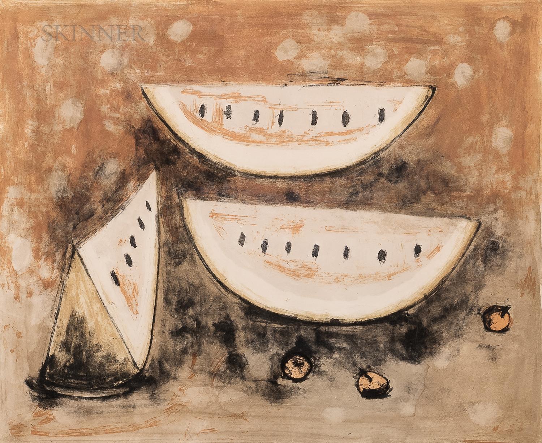Rufino Tamayo (Mexican, 1899-1991)      Naturaleza Muerta
