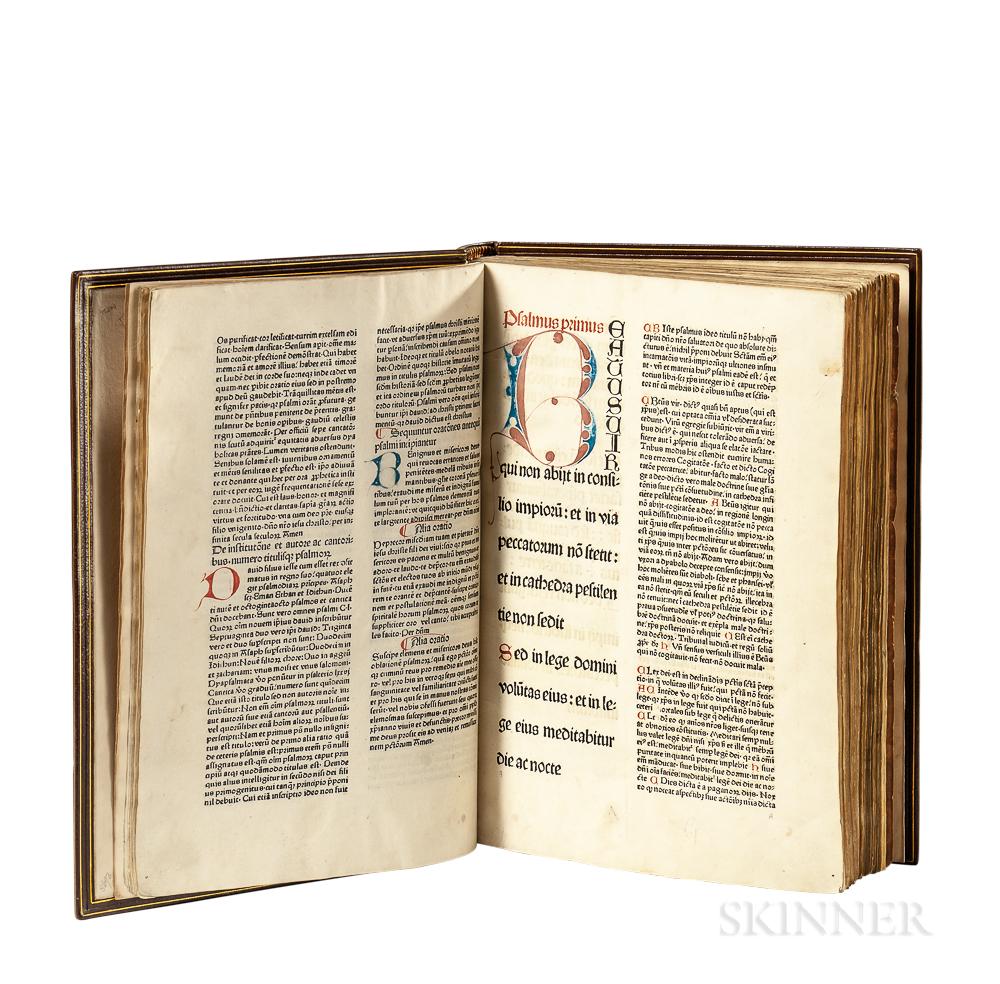 Psalterium  , Edited by Bruno, Bishop of Würzburg (1005-1045).