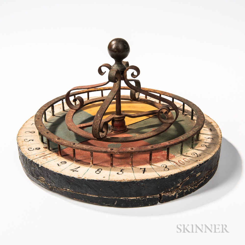 Painted Wheel of Chance