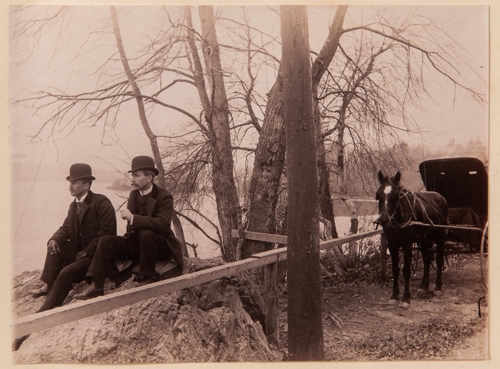 Photo Albums, Newton, Marion, and Marblehead, Massachusetts, 1890s.