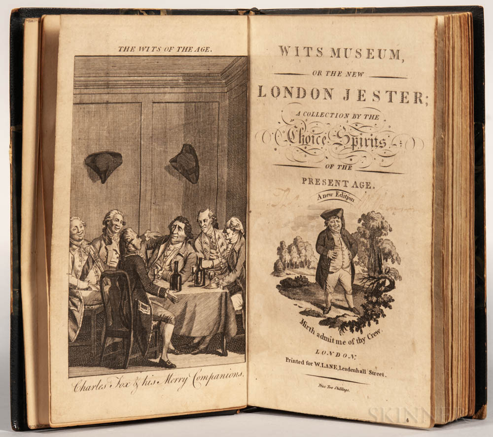 Wits Museum, or the New London Jester; a Collection by the Choice Spirits of the Present Age, a New Edition.
