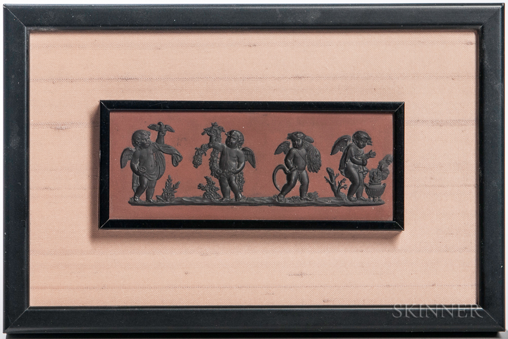 Wedgwood Redware Rectangular Plaque
