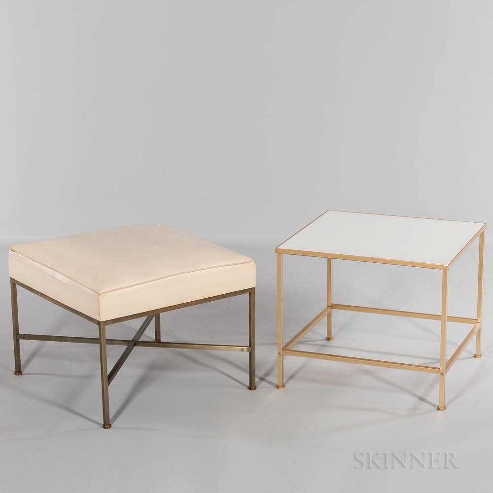 Paul McCobb for Directional Footstool and Occasional Table